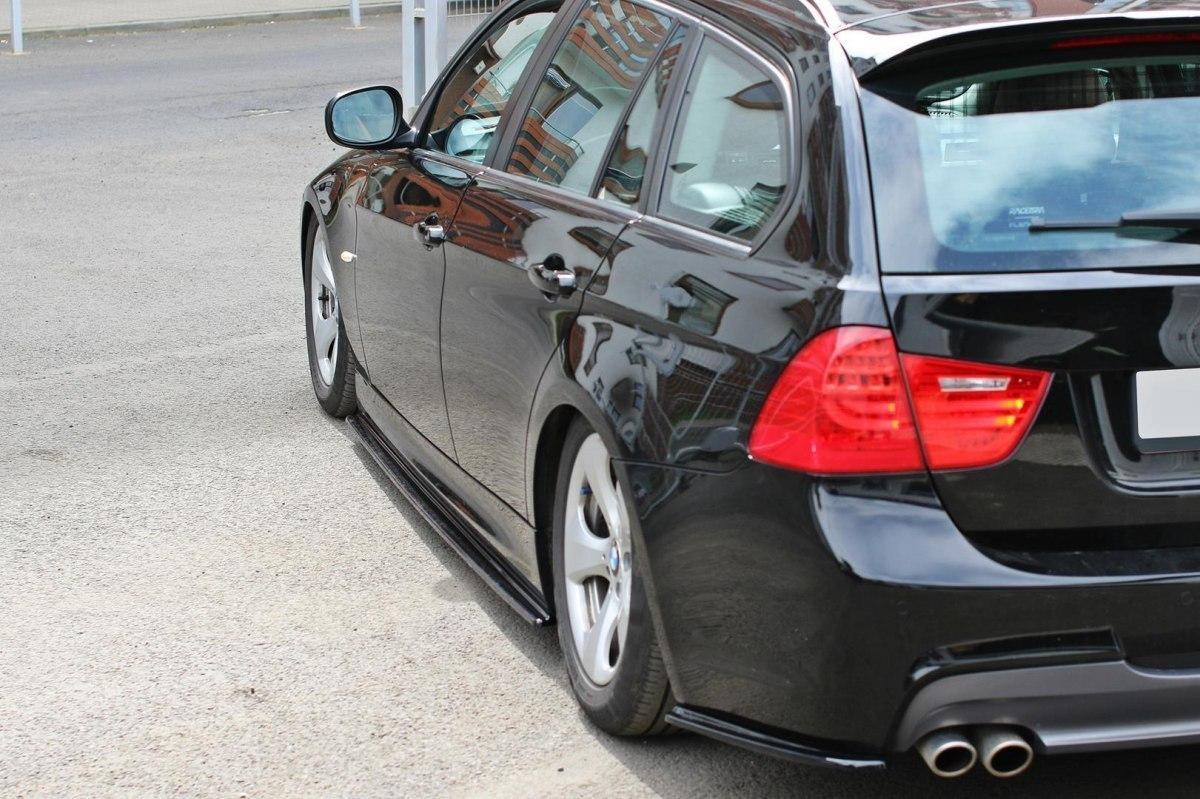 Dokładki Progów BMW 3 E91 M-PACK - GRUBYGARAGE - Sklep Tuningowy